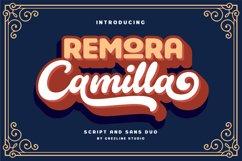 Remora Camilla - Font Duo Product Image 1