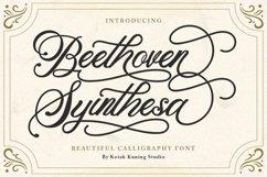 Modern Calligraphy - Beethoven Syinthesa Product Image 1