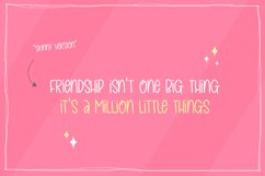 Forever Friends Font Duo Product Image 2