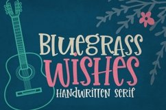 Bluegrass Wishes | Crafter Friendly Font Product Image 1
