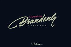 Brandenly Font Product Image 3
