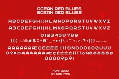 OCEAN RED BLUES Product Image 2