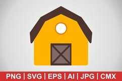 Vector Barn Icon Product Image 1