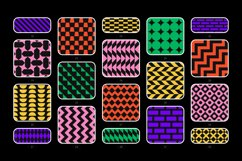 Bold geometric seamless patterns collection Product Image 6