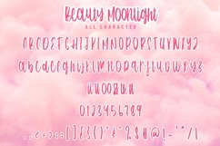 Beauty Moonlight - Cute Font Product Image 5