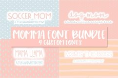 Momma Font Bundle | 4 Custom Fonts Product Image 1