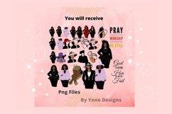 Church ladies Bundle, African American, Black women png Product Image 3