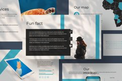 Aqua Business Google Slide Product Image 3