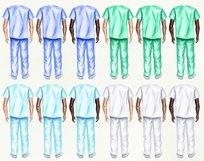 Nurses clipart, Doctor clipart, Medical clipart Custom Nurse Product Image 2