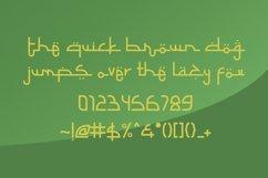 Selamet Lebaran - Arabic Fauxlang Font // Web Font Product Image 5