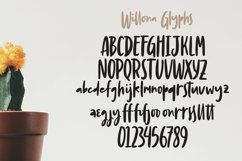 Web Font Willona - Quotable Handlettering Font Product Image 2