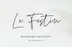 Le Festin // handwritten font Product Image 1