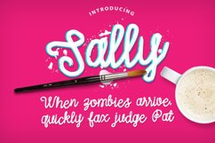 Sally Script Product Image 2
