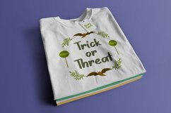 Scary Candy | Cute halloween font with illustration Product Image 5