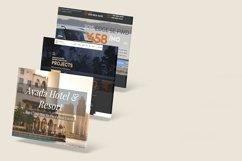 3D Web Showcase Mockup Product Image 6