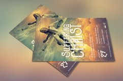 Christ Suffering Flyer Template Product Image 4