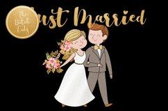Wedding Day & Marriage Clipart Set Product Image 2