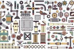 Steampunk machine parts bundle Product Image 2