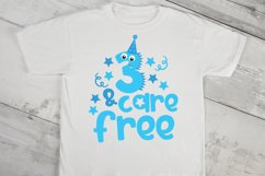 Third Birthday Monster SVG Cut File Product Image 2