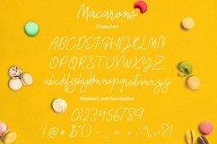 Macarons - Font and Extras / Cursive Font / Script Font / Product Image 4