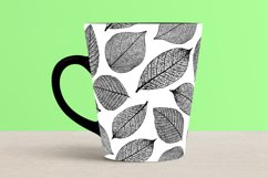 Black and White Seamless Repeat Nature Patterns Bundle Product Image 3