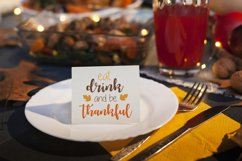Thanksgiving Sublimation Designs, Thanksgiving SVG Designs Product Image 4
