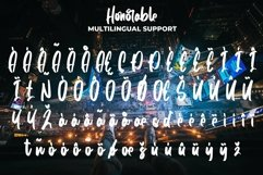 Honorable - Handwritten Brush Font Product Image 7