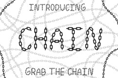 Chain Font Product Image 1