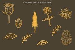 Roadside Pines - Vintage Serif Product Image 6