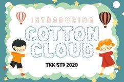 Cotton Cloud - Cute Font Product Image 1