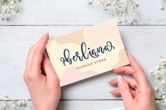 Anderosa - a Bouncy Script Font Product Image 2