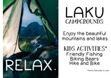Going Camping - A Handwritten Font Product Image 3