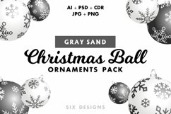 48 Christmas Ball Ornaments Pack 6 Colors Product Image 5