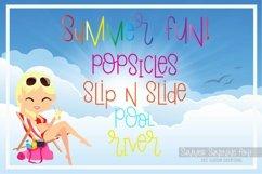 Summer Sunshine Hand Lettered Font Product Image 4