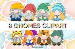 Gnome clipart set, gnome png, sublimaion, gnome sticker Product Image 1