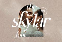 skylar - ligature sans font family Product Image 1