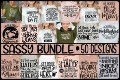 SASSY BUNDLE - 50 DESIGNS - SVG PNG EPS DXF Product Image 1