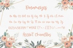 Dreameyes Lovely Modern Calligraphy Font Product Image 5