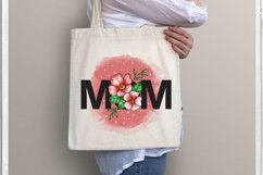 MOM sublimation, Mom Flower Product Image 2