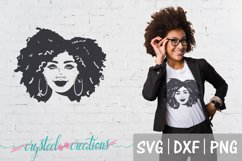 Afro Bundle 5 Different files SVG, DXF, PNG, Afro svg Product Image 2