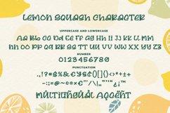 Lemon Squash - a Delicious Qirky Font Product Image 6