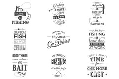 Fishing. Typography quotes. Product Image 1