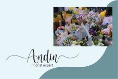 Hello adeline | a pretty script Product Image 4