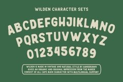 Wilden - Handdrawn Vintage Typeface Product Image 3