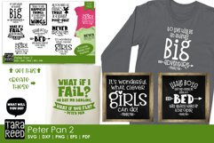 Peter Pan Quotes - SVG and Cut Files for Crafters Product Image 2