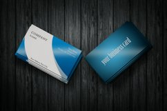 Photorealistic business card mockup set Product Image 3
