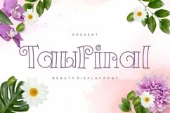 Web Font Tawfinal Display Font Product Image 1