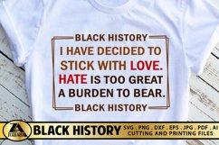 Black Lives Matter SVG Black History SVG Black Woman SVG Product Image 3