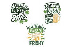 St Patricks Day Drinking SVG in SVG, DXF, PNG, EPS, JPEG Product Image 2