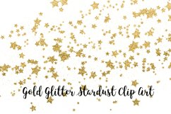 Gold Glitter Stardust, Transparent PNG Product Image 2